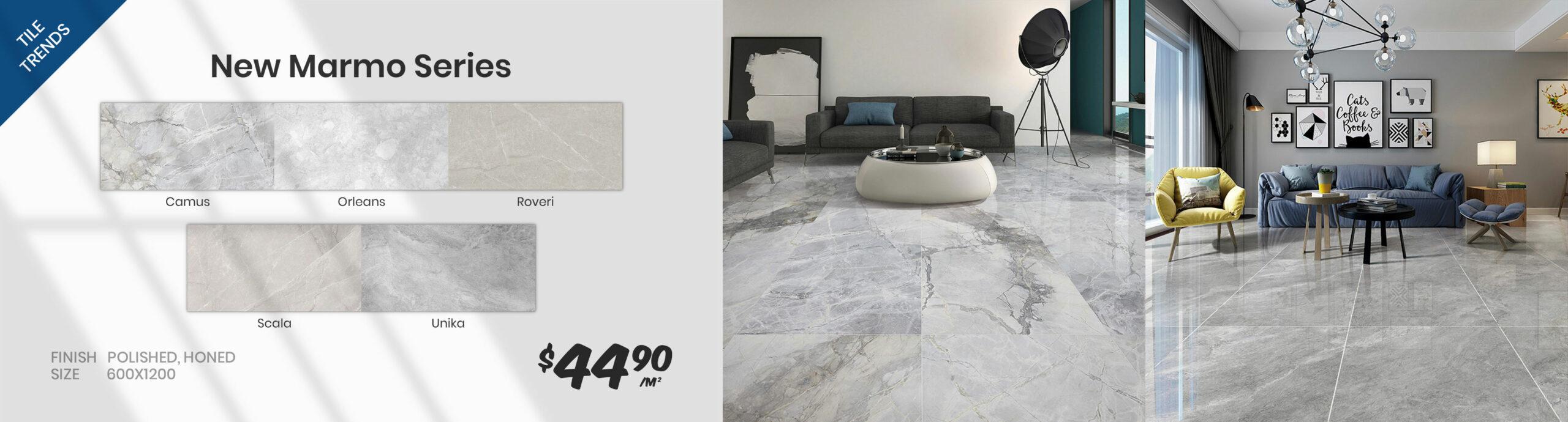 New marmo series tiles